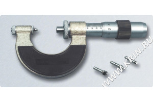 Микрометр со вставками МВМ 125