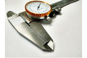 Штангенциркуль ШЦК-I-200-0.02 ГОСТ166-89 нерж.