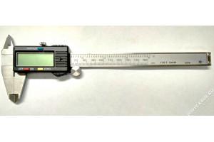 Штангенциркуль ШЦЦ-I-150-0,01 ГОСТ 166-89 нерж.