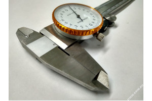 Штангенциркуль ШЦК-I-150-0,02 ГОСТ 166-89 нерж.
