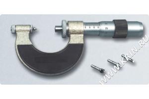Микрометр со вставками МВМ 100