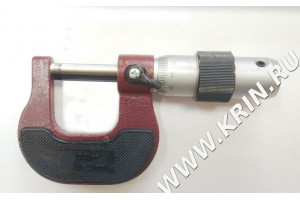 Микрометр гладкий МК 25 кл.2